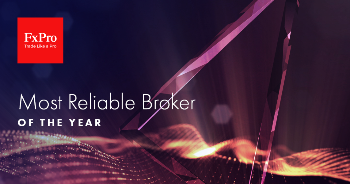 "FxPro: ""Most Reliable Broker of the Year"""