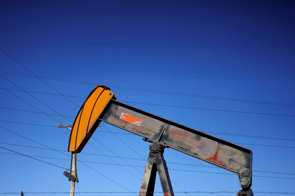 Oil fell by almost 3% on supply growth and Chinese economy slowdown