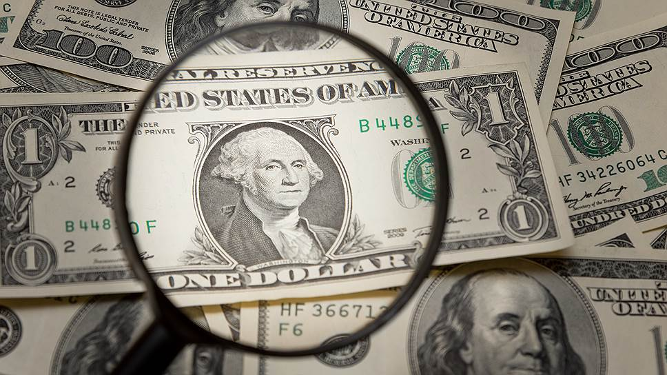 The dollar is falling along with futures for US indices