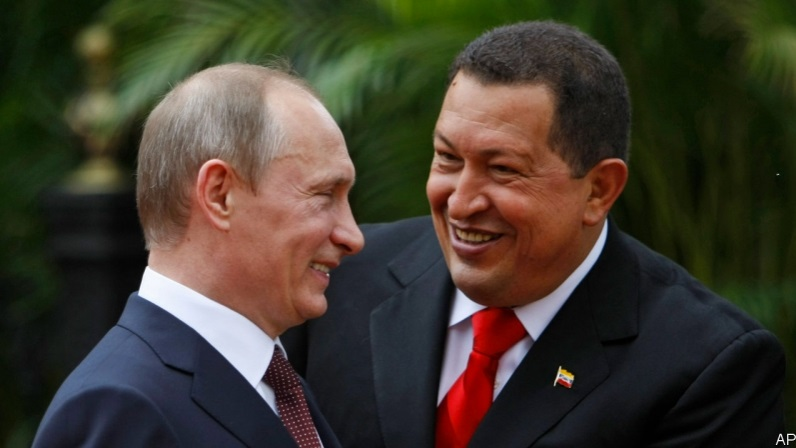 Putin fights for his future in Venezuela