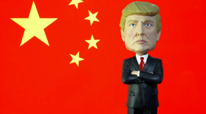 """""""Nuclear option"""" of China in the trade war against the USA"""