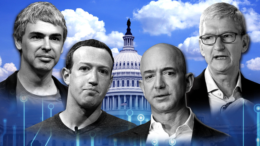 Facebook, Apple, Google, and Amazon: a tough time ahead