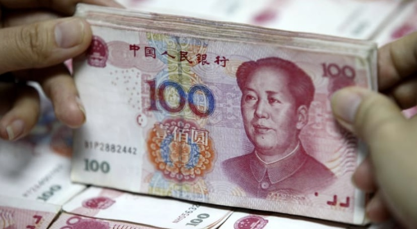 China's central bank could be trying to shore up the yuan