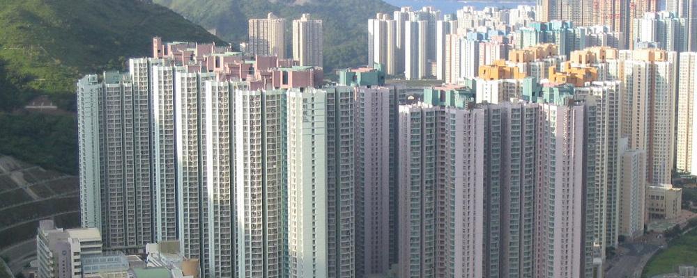 Amid protests, Hong Kong's leader addresses one key social concern — unaffordable housing