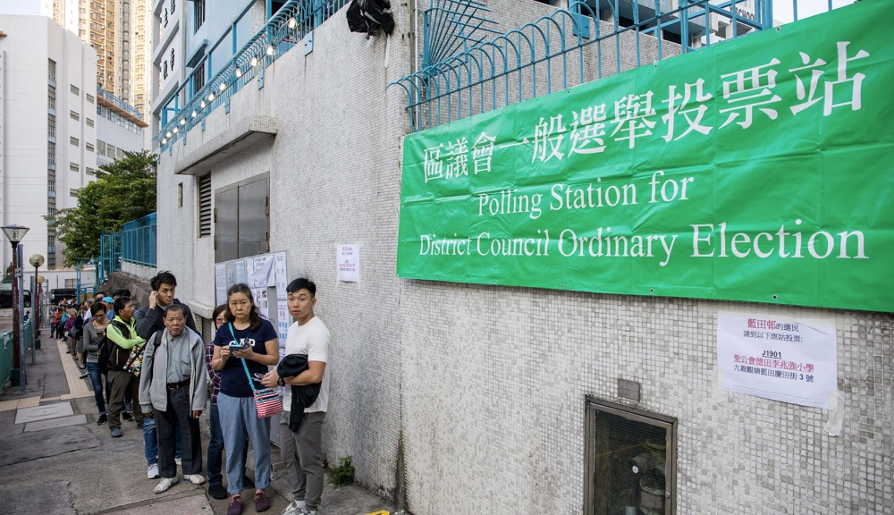 Beijing finally responds to Hong Kong election results after big win for democrats