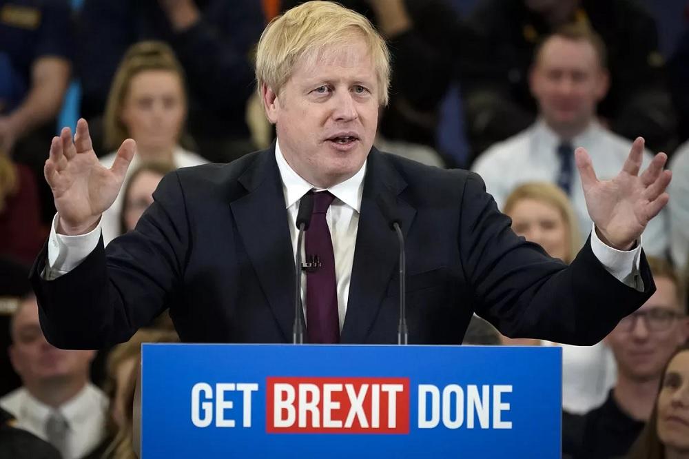 Boris Johnson secures biggest Conservative Party election win since 1987