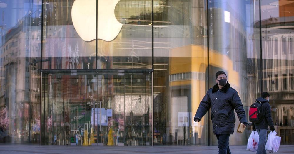 Coronavirus hit Apple