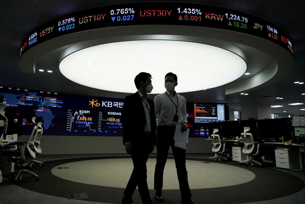 World stocks set for worst week since 2008 financial crisis