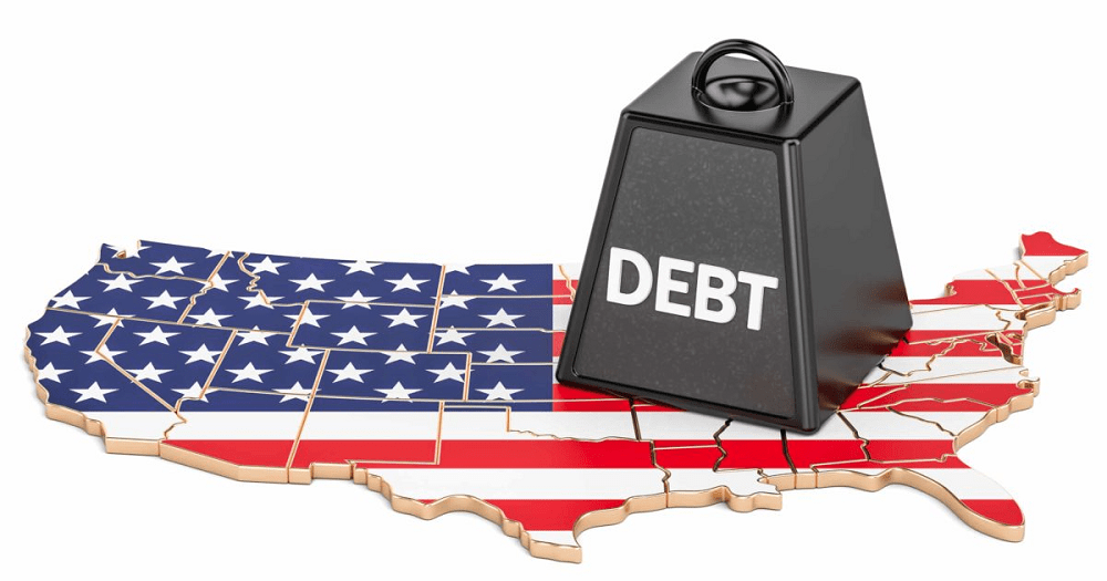 U.S. debt will easily surpass $30 trillion by the middle of the decade