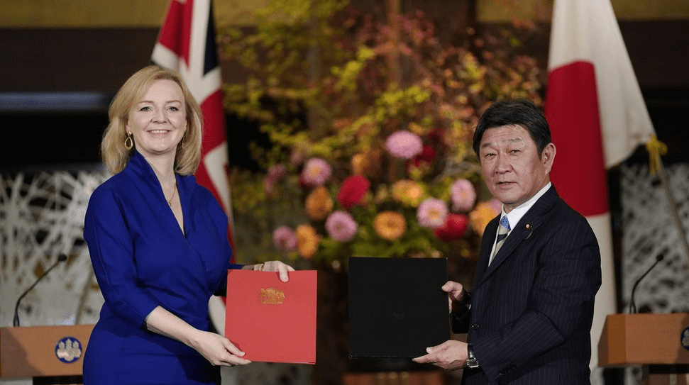 Britain and Japan sign post-Brexit trade deal