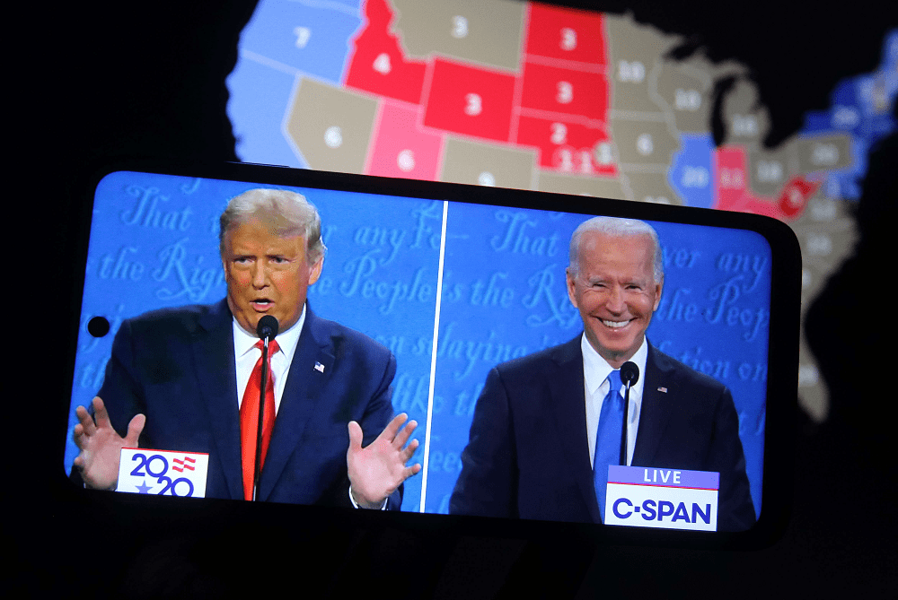 GOP pollster says Trump won the final debate but Biden 'won the war'