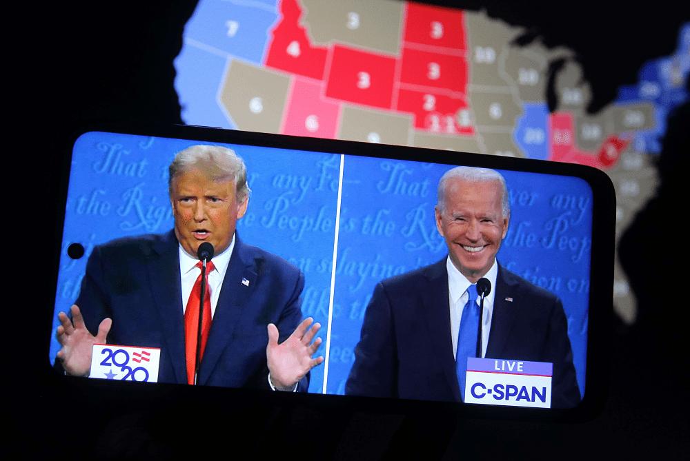 GOP pollster says Trump won the final debate but Biden 'won the war'