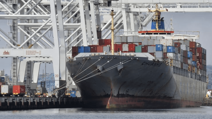 Shipping carriers rejected tons of U.S. agricultural exports, opting to send empty containers to China