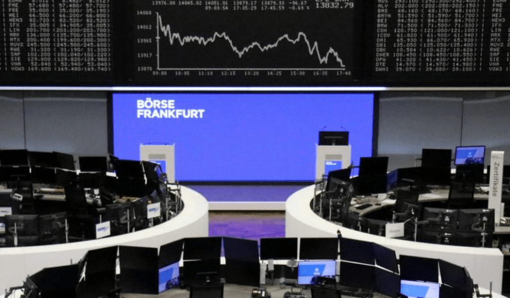 European shares jump and bond markets recover