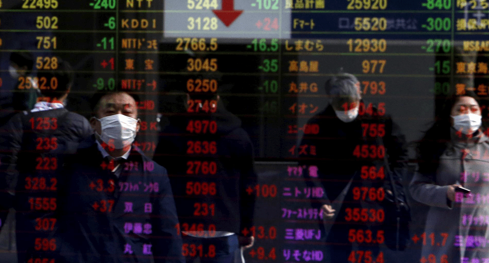 Asian shares fall amid China's asset-bubble warning