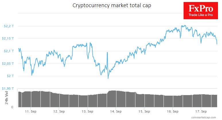 Cryptocurrency market rebound dries up, alarmingly recalling 2018